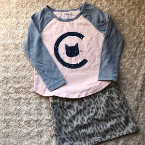 Baby Gap Graphic Tee, size 2 Years